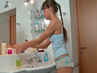 Cute Slim Russian Girl Fucked In The Bathroom Free Porn 95